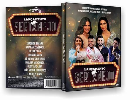 LANÇAMENTOS SERTANEJOS 2019 – DVD-R
