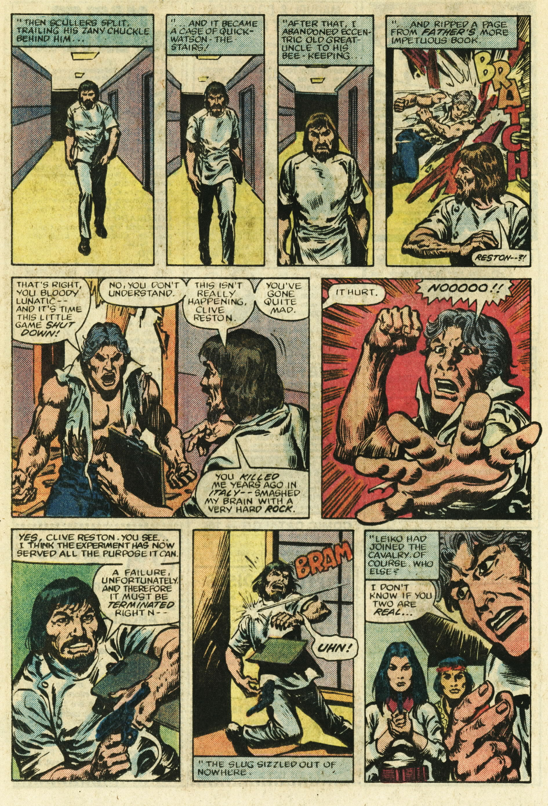 Read online Master of Kung Fu (1974) comic -  Issue #122 - 17