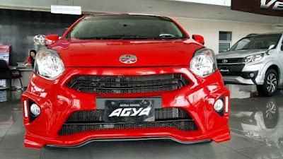 Modifikasi Bemper Daihatsu Ayla