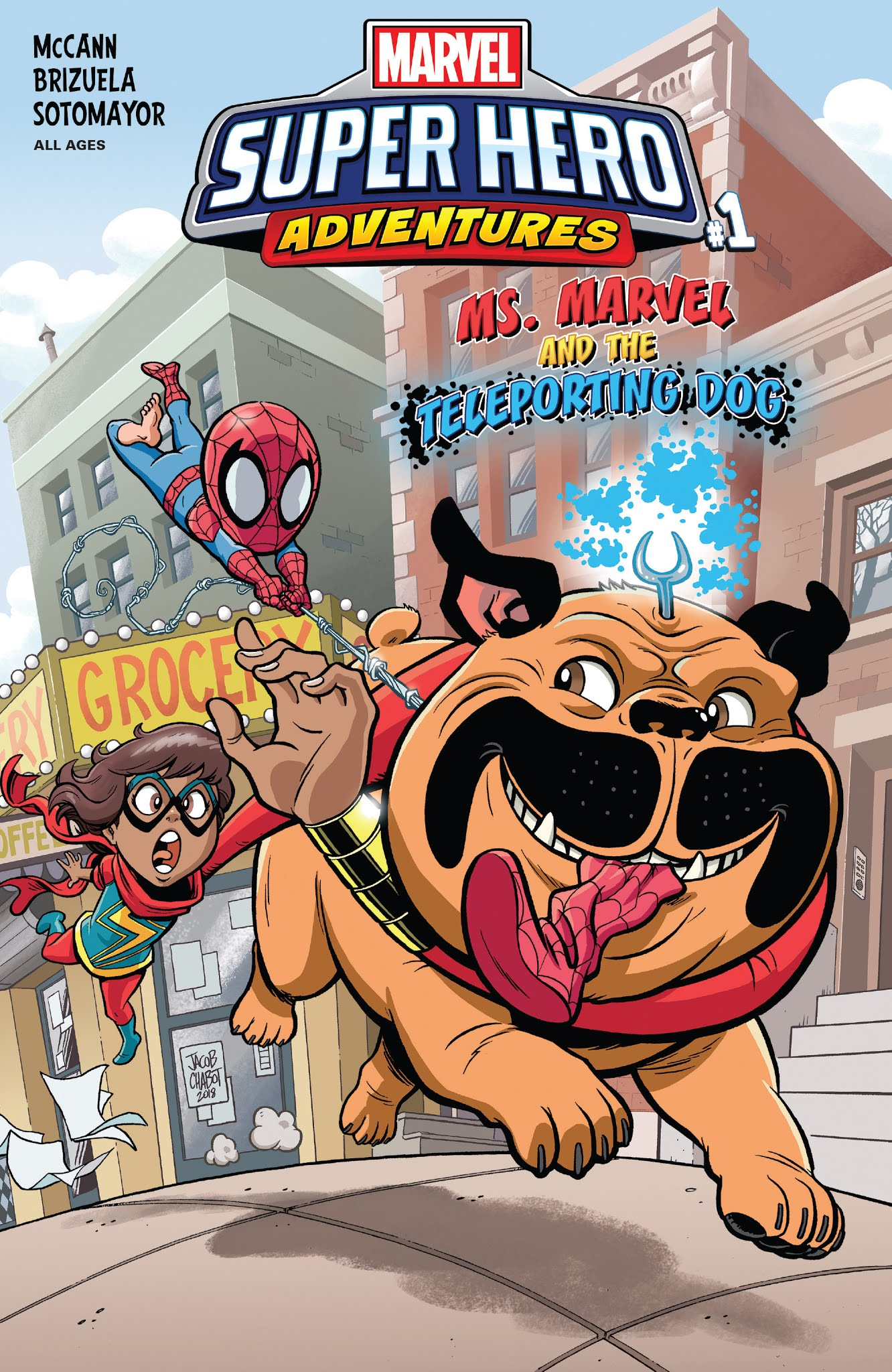 Marvel Super Hero Adventures: Ms. Marvel and the Teleporting Dog Full Page 1