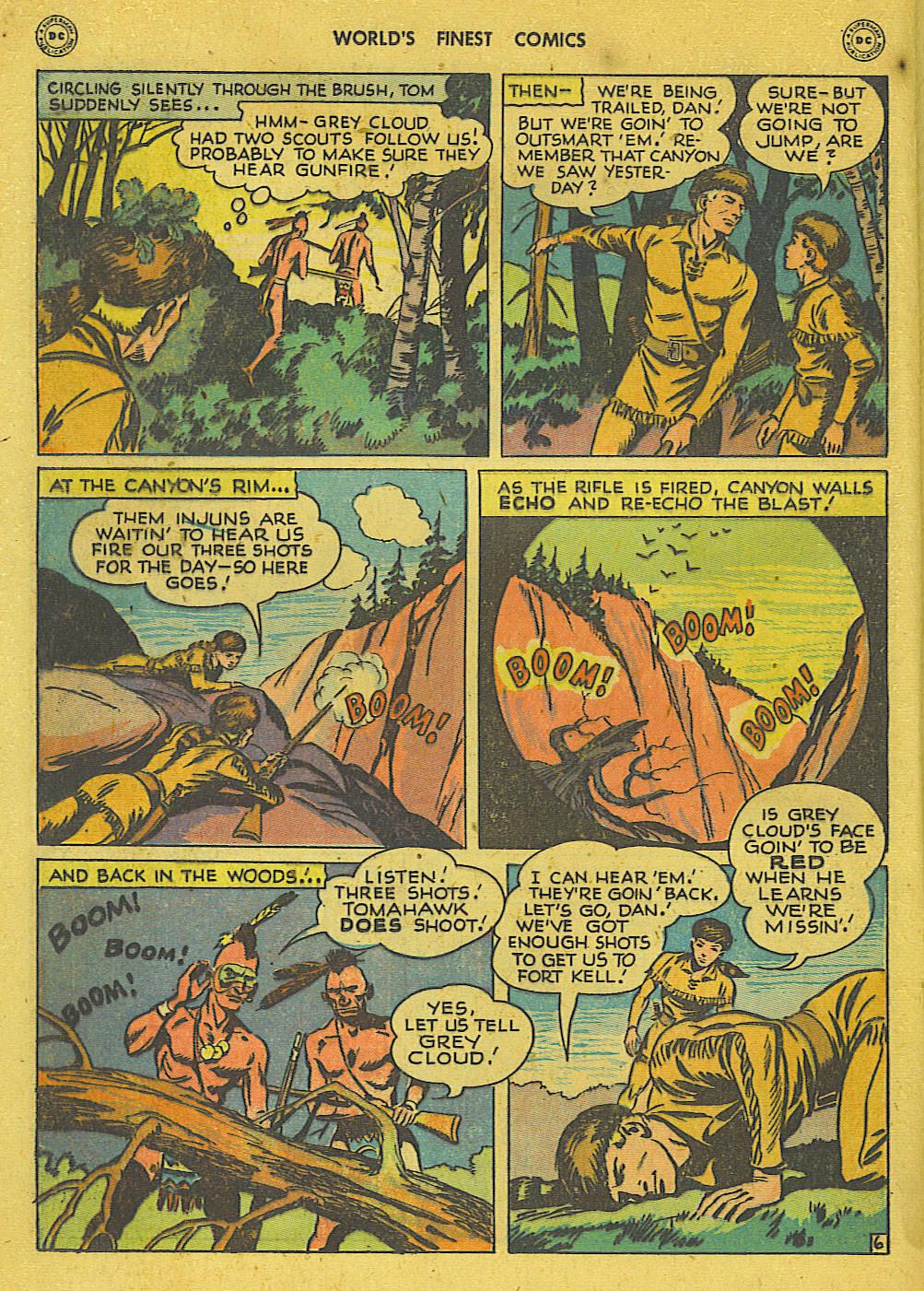 Read online World's Finest Comics comic -  Issue #34 - 22
