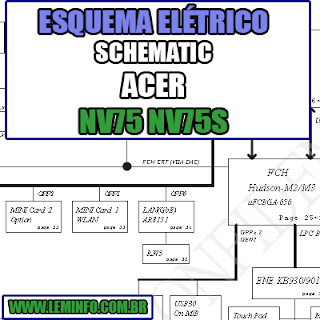Esquema Elétrico Notebook Acer NV75 NV75S Laptop Manual de Serviço  Service Manual schematic Diagram Notebook Acer NV75 NV75S Laptop   Esquematico Notebook Acer NV75 NV75S Laptop