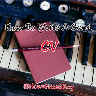 write good cv