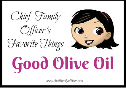 CFO Favorite: Good Olive Oil