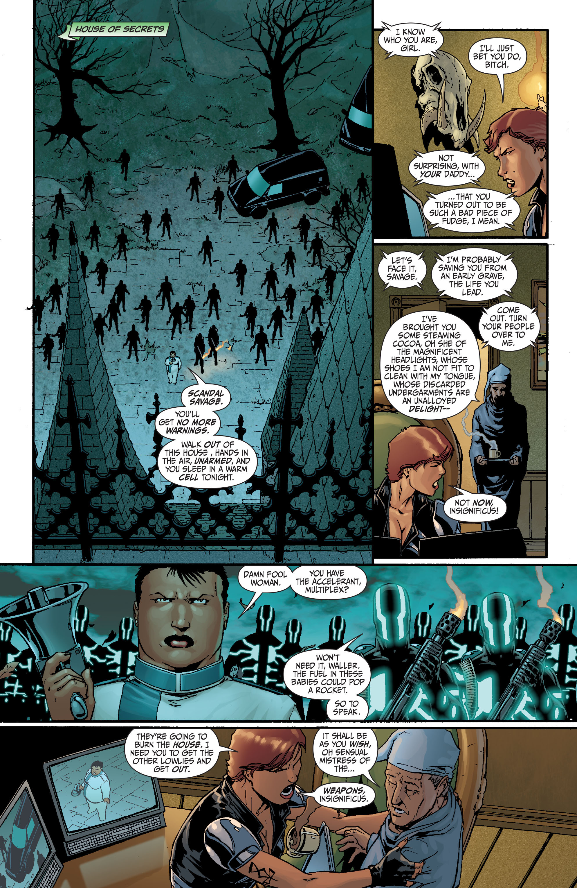 Read online Secret Six (2008) comic -  Issue #17 - 5