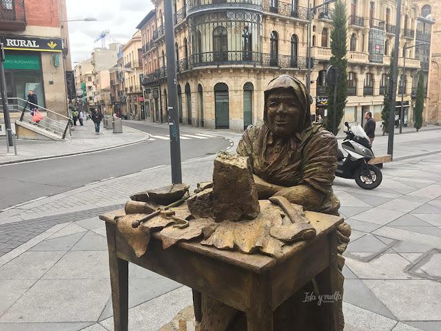 Turronera de La Alberca junto al Mercado Central