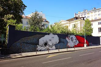 Sunday Street Art : Ella & Pitr - Pavillon Carré de Baudouin - rue de Ménilmontant - Paris 20