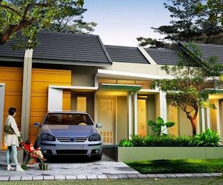 macam-macam rumah minimalis tampak depan