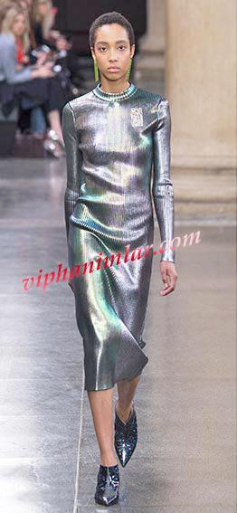 Moda renkler - Metalik Gümüş