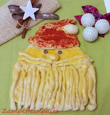Pane Babbo Natale - Pane natalizio
