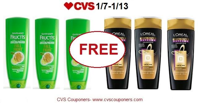 http://www.cvscouponers.com/2018/01/free-garnier-fructis-loreal-hair-care.html