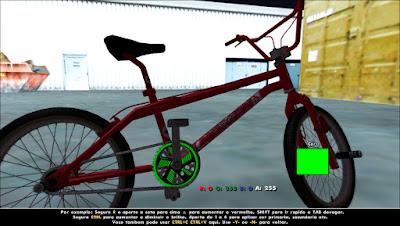 coroa viper colorida bicicleta gta sa mod