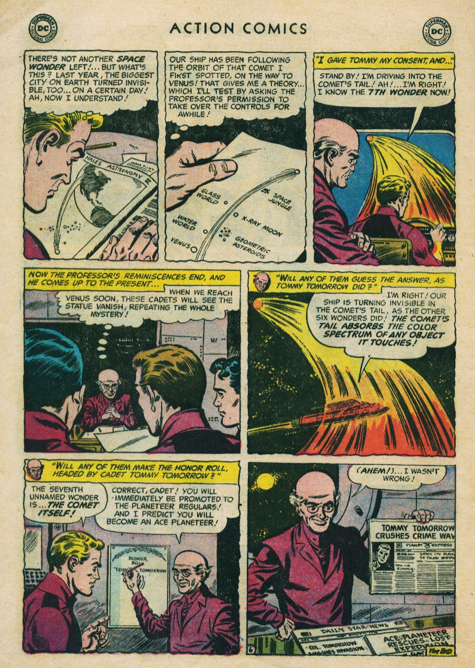 Read online Action Comics (1938) comic -  Issue #224 - 32