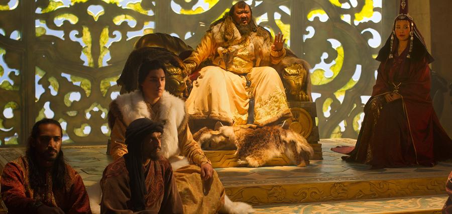 Serial Marco Polo: la curtea împăratului Kublai Khan