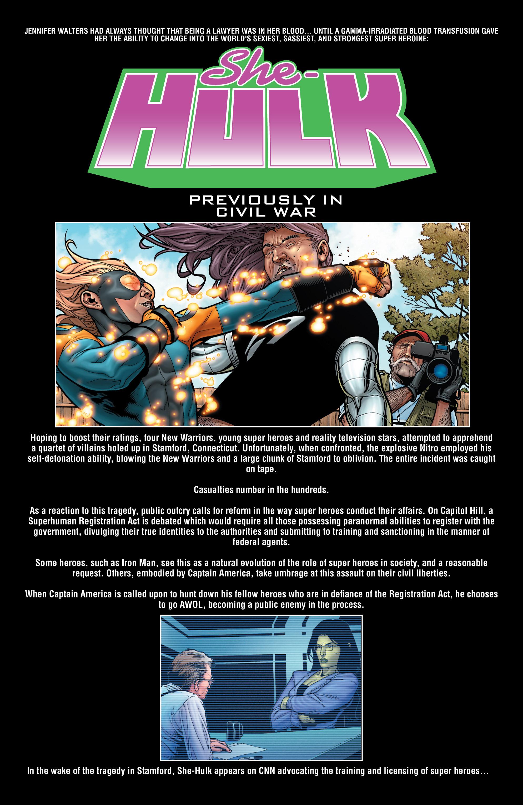 Read online She-Hulk (2005) comic -  Issue #8 - 2