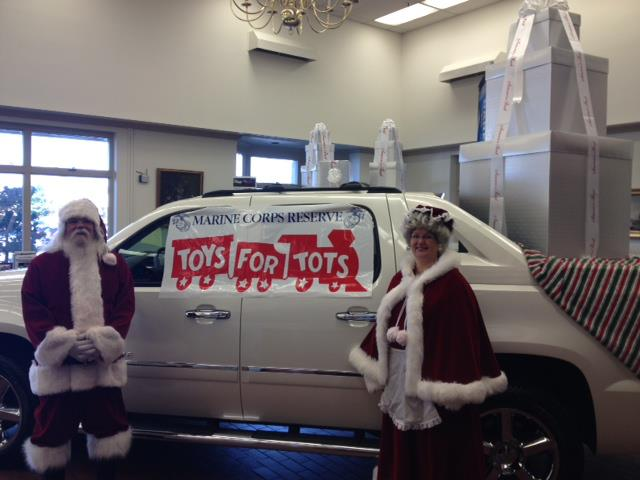 fitzmall frederick md fitzgerald mazda vw cadillac chevrolet toys for tots holiday season. Black Bedroom Furniture Sets. Home Design Ideas