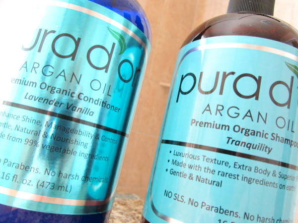 Pura d´or Argan Oil Premium Organic Shampoo & Conditioner - Hair Care Products Review