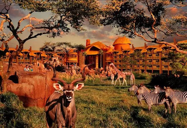 Disney's Animal Kingdom Lodge Lake Buena Vista