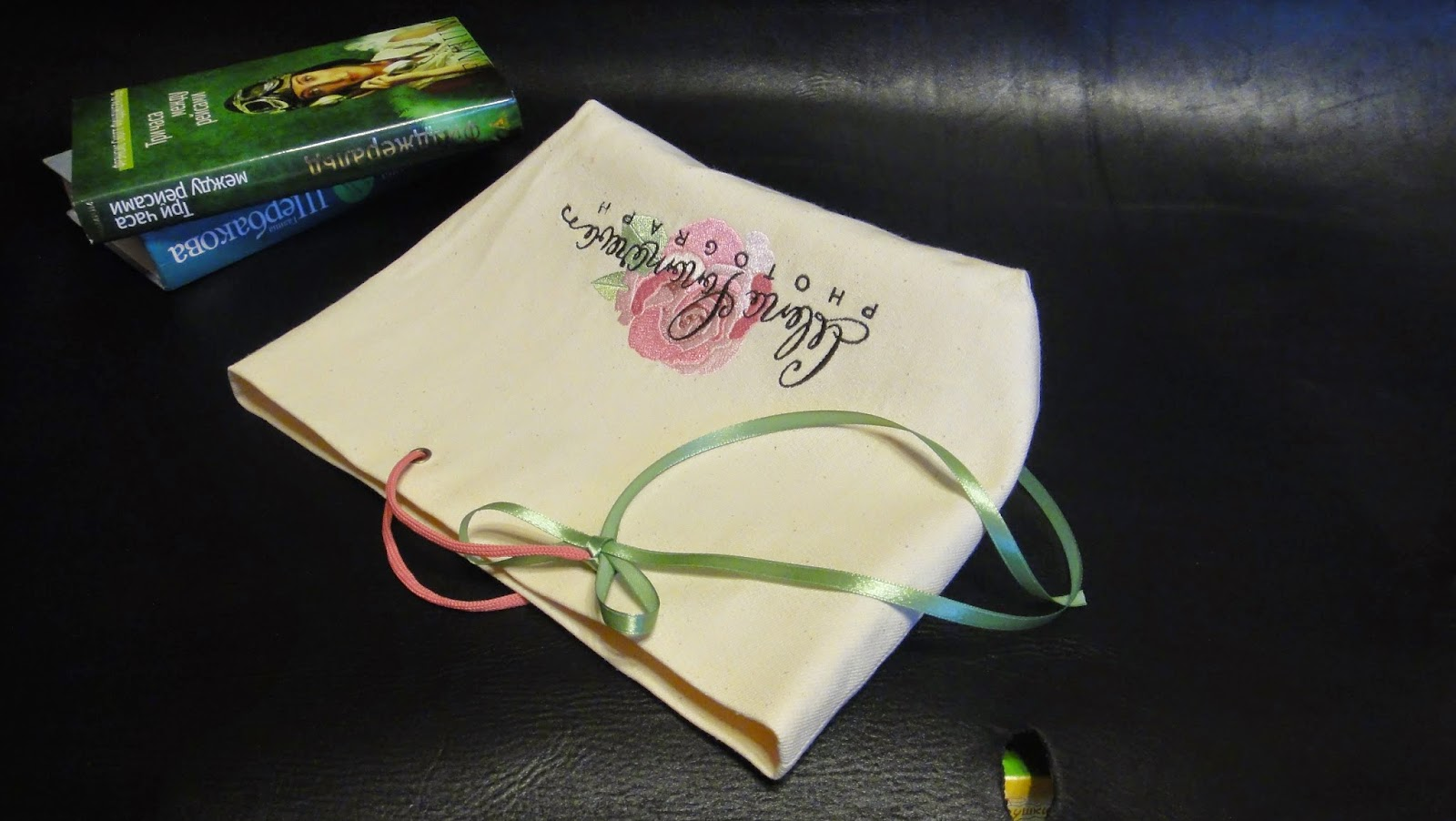 Сумочка пакет с логотипом мастера