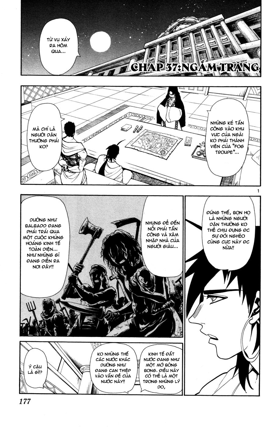 Magi The Labyrinth of magic chapter 37 trang 1