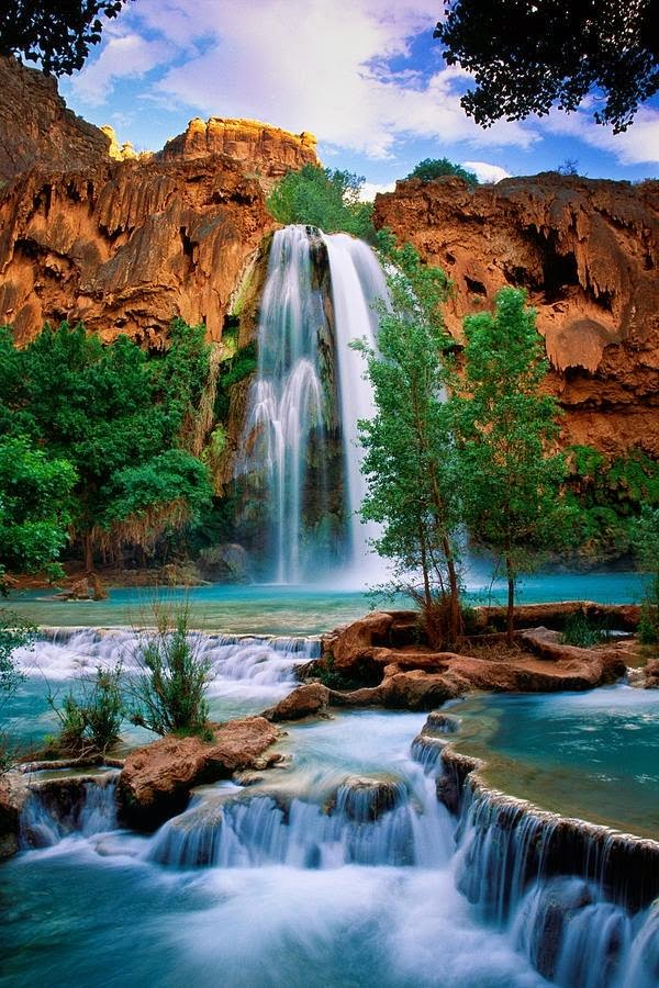 Havasu waterfall, Arizona