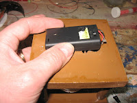 Inserting the battery box