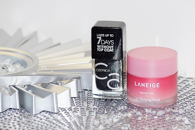 Ulubieńcy 2017 Catrice ICONails Laneige Lip Mask Elite Models