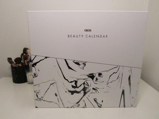 ASOS Beauty Calendar 2016 front