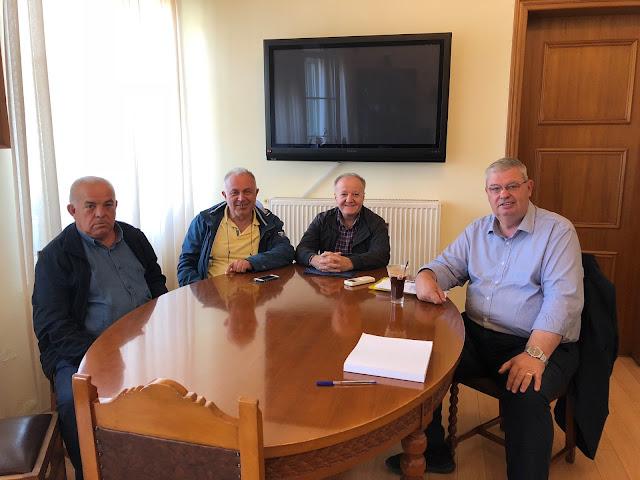 Συνάντηση Περιφερειάρχη με την Ένωση Αγροτών Ιωαννίνων