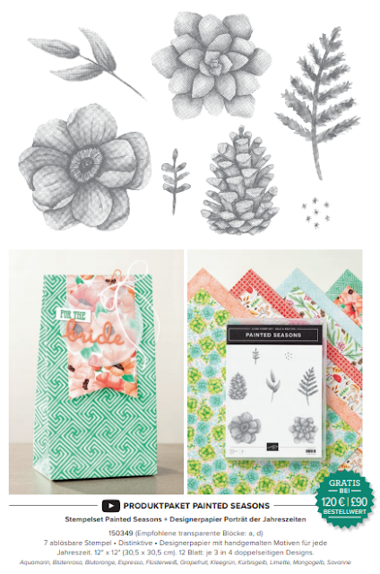 Sale-A-Bration Produktpaket Painted Season Gratis