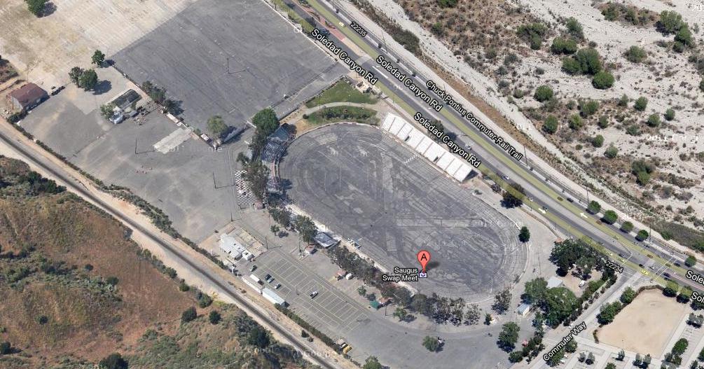 Modern Day Ruins Saugus Speedway Nascar
