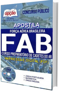 Apostila Concurso FAB 2017 Cadetes de Ar