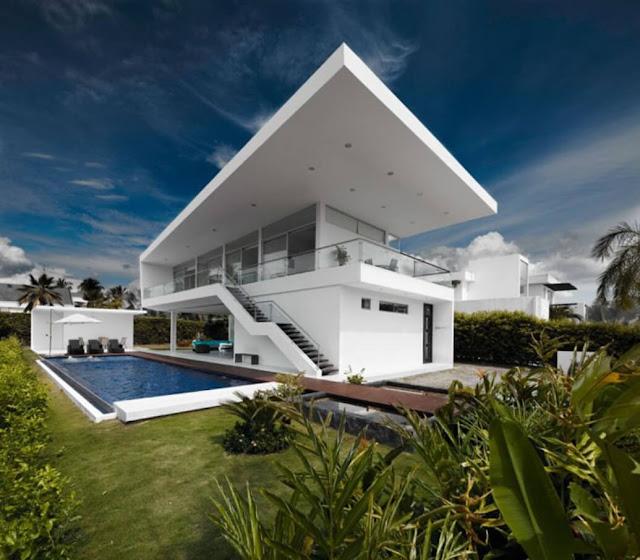 model rumah tingkat minimalis modern