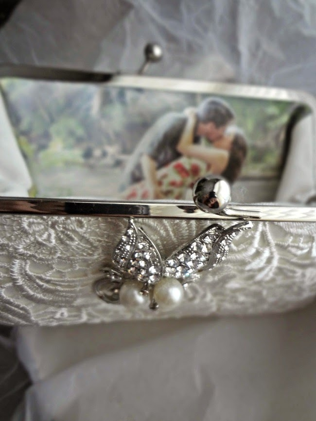 Angee W. Personalized Bridal Clutch Bag Review