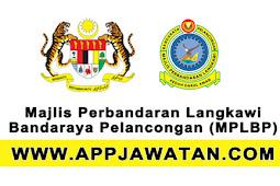 Jawatan Kosong Kerajaan 2017 di Majlis Perbandaran Langkawi Bandaraya Pelancongan (MPLBP) - 23 Ogos 2017