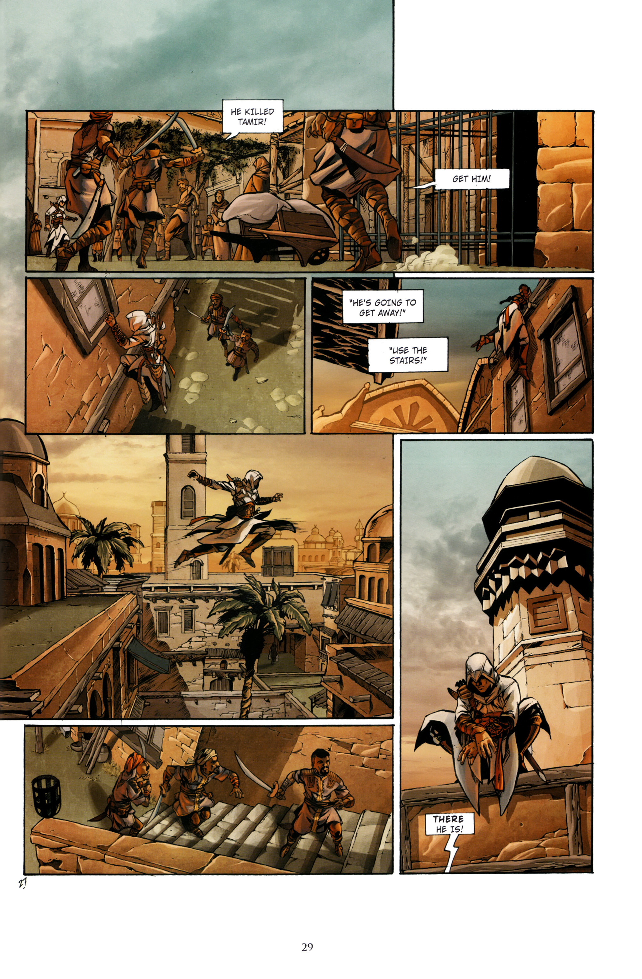 Read online Assassin's Creed (2012) comic -  Issue #1 - 33