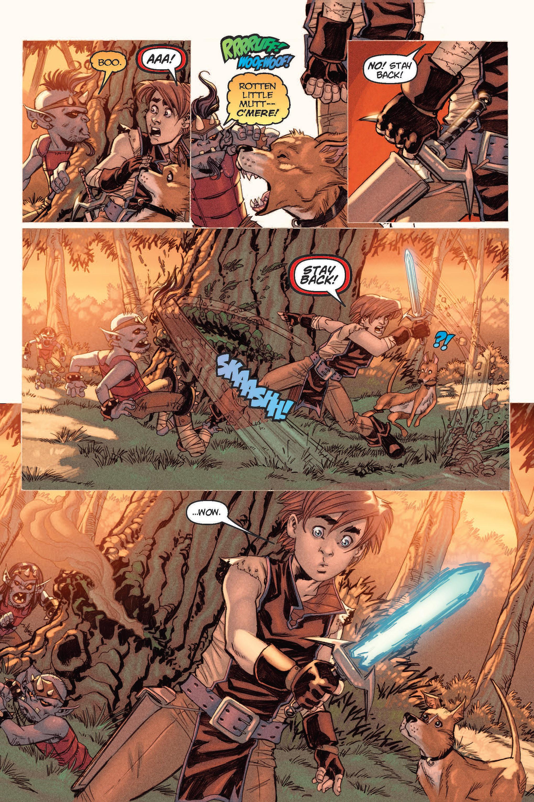 Read online Skyward comic -  Issue #2 - 18