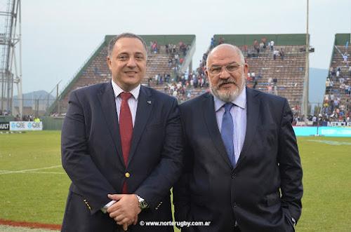 Adolfo Mimessi y Carlos Araujo en Salta