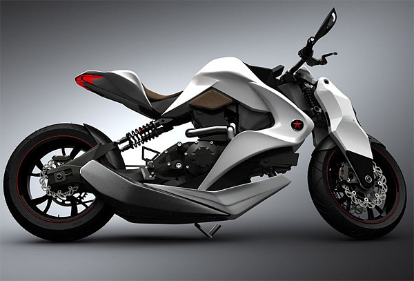 Izh 1 Is Hybrid Motorcycle With Futuristic Design Picture From Http Theawesomer