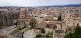Girona desde sus murallas.