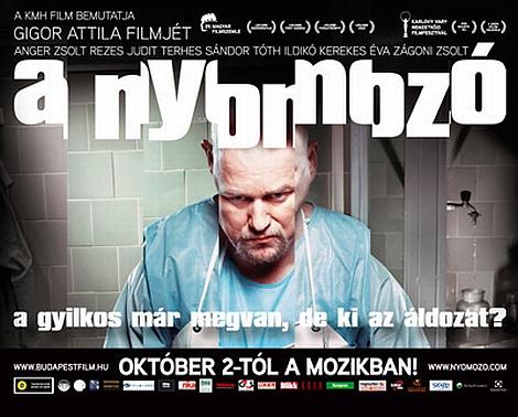 a nyomozó magyar film plakát