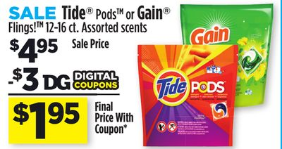 My vegas mommy 2016 07 24 dollar general buy 1 tide pods or gain flings 12 16 ct 495 use 3001 digital coupon final price 195 fandeluxe Images