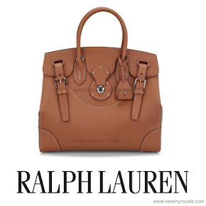 Crown princess Mary wore Ralph Lauren Satchel Bag