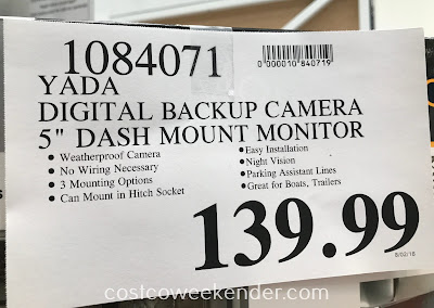 Deal for the Yada Flex Mount Backup Camera