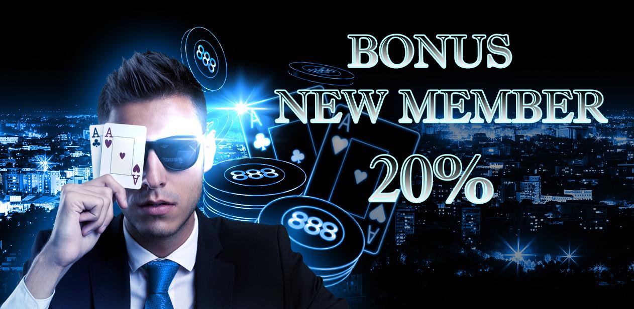 Bonus New Member Poker Online Indonesia