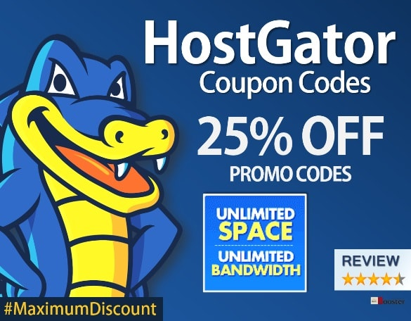 HostGator Review Coupon Codes Get Max Discount on Best Web Hosting