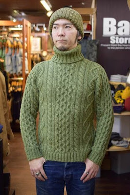 JELADO Cable Knit Wear