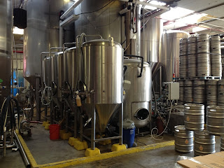 Austin Beerworks brewing facilities.