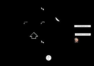 Contoh  SketchUp Layout Gate Perumahan
