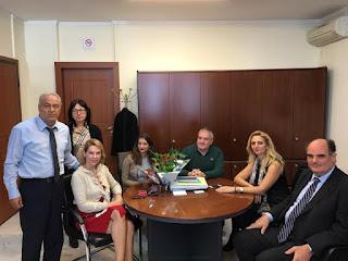 Επίσκεψη κλιμακίου της Νέας Δημοκρατίας με επικεφαλής την Κατερίνα Παπακώστα στο ΤΕΙ Αθήνας